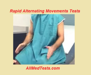 rapid alternating movement tests