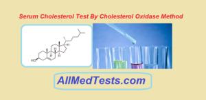 serum cholesterol test